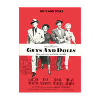 Guys and Dolls 1950 Poster